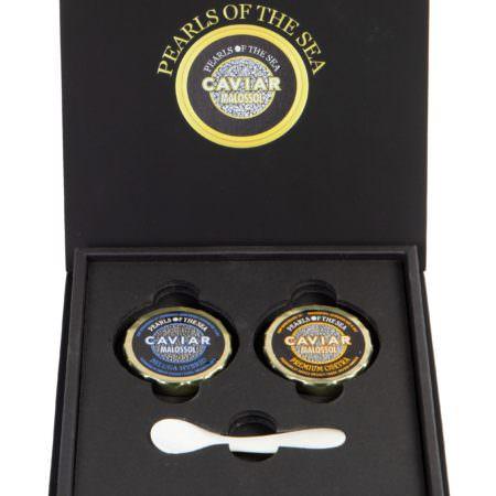 Gift Box 2/1 oz Imported Caviar